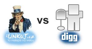 Linkuj.cz vs Digg.com
